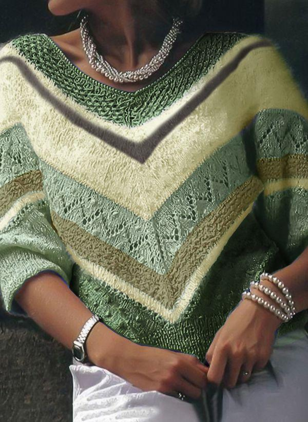 Вязаный свитер осень/зима 2020-2021 1361872