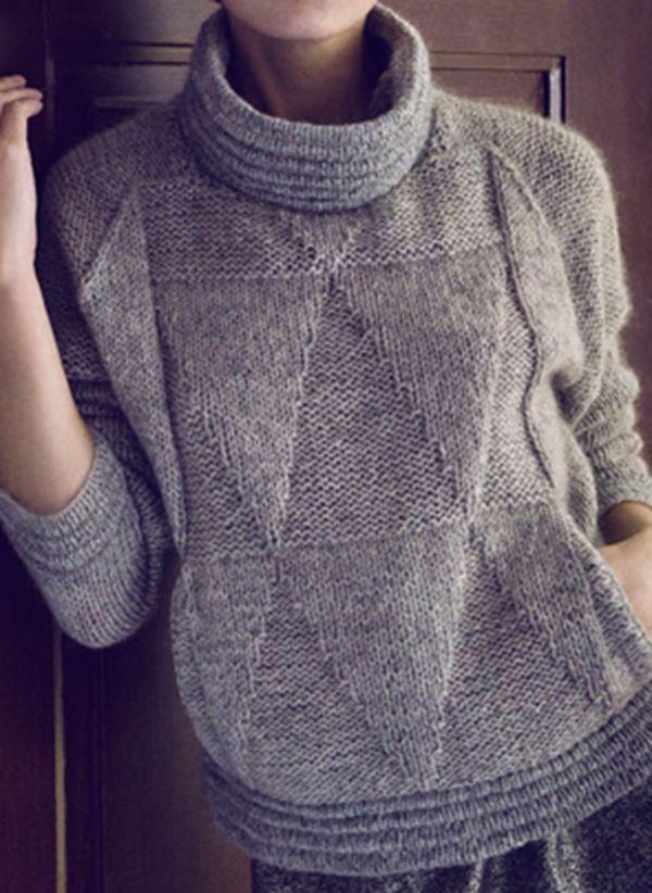 Вязаный свитер осень/зима 2019-2020 1365430