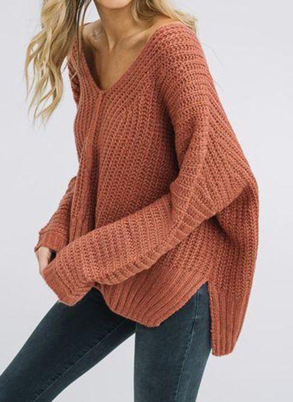 Вязаный свитер осень/зима 2019-2020 1380521