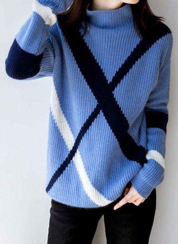 Вязаный свитер осень/зима 2019-2020 1383392
