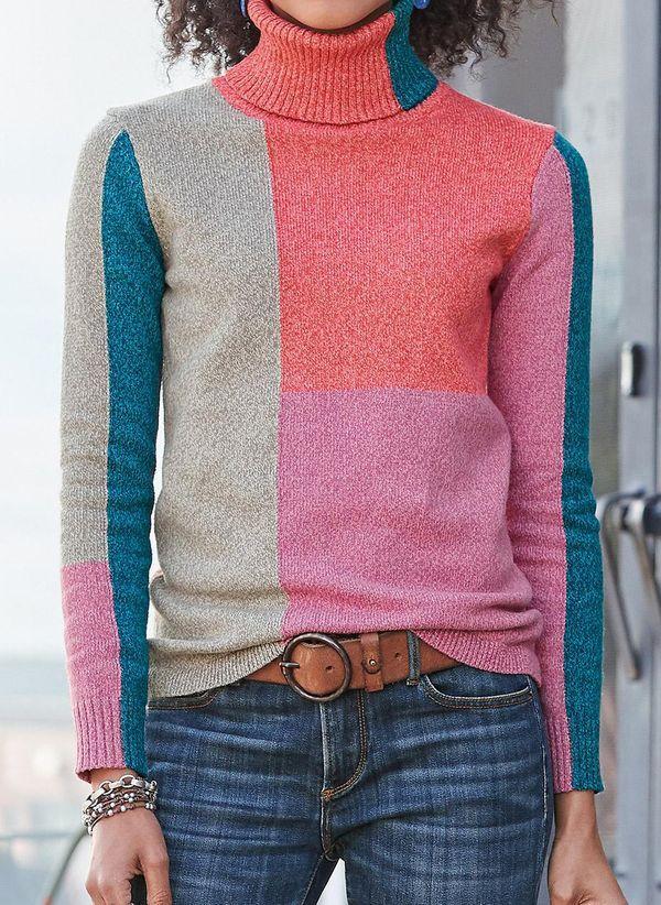Вязаный свитер осень/зима 2019-2020 1400760