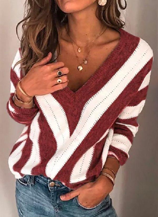 Вязаный свитер осень/зима 2019-2020 1401323