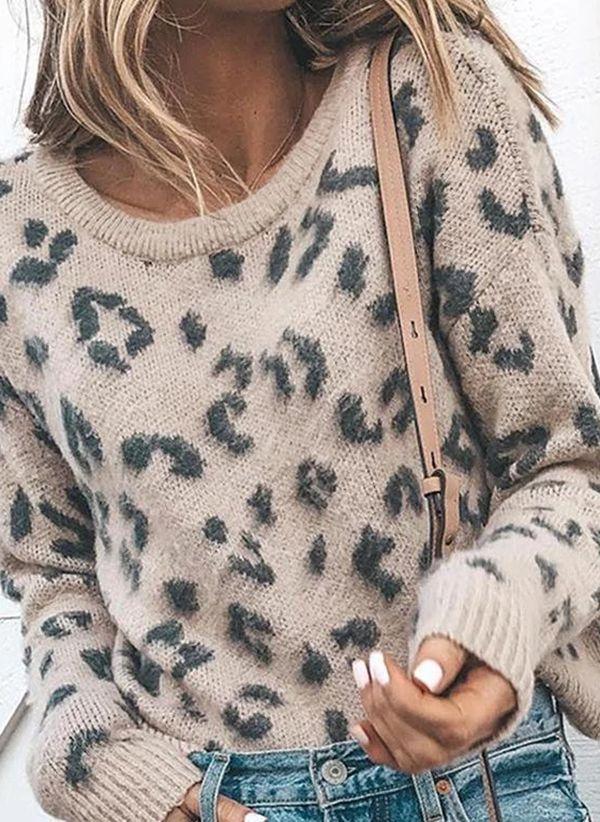 Вязаный свитер осень/зима 2019-2020 1403910