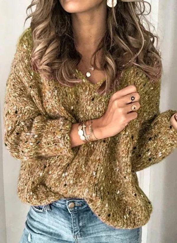 Вязаный свитер осень/зима 2019-2020 1409884