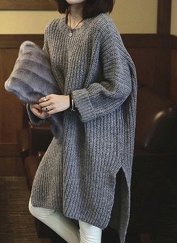 Вязаный свитер осень/зима 2019-2020 1409924