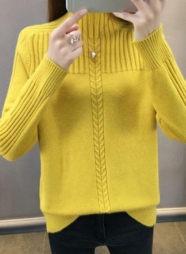 Вязаный свитер осень/зима 2019-2020 1409929