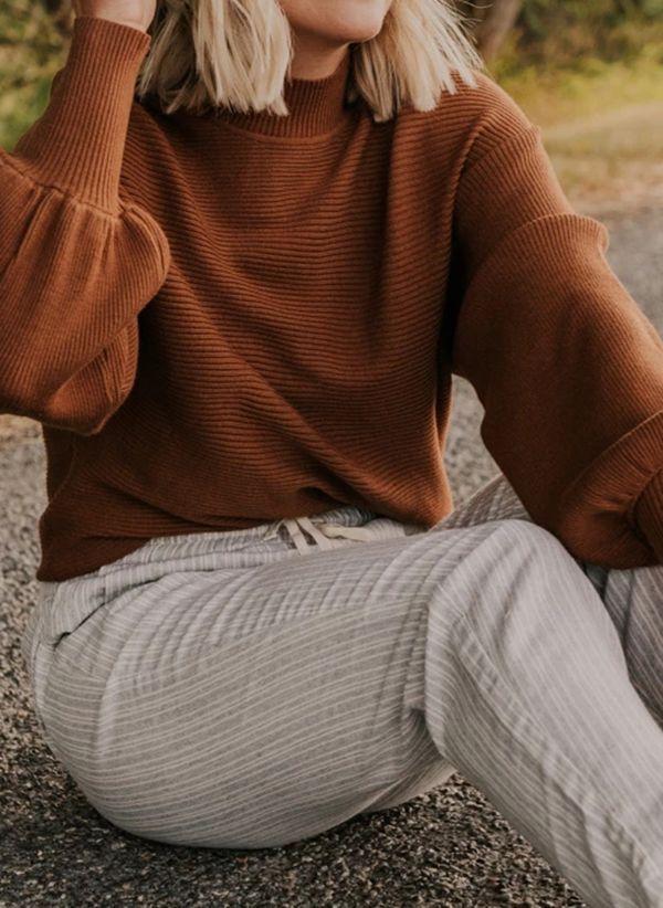 Вязаный свитер осень/зима 2019-2020 1410844