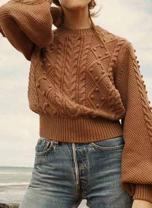 Вязаный свитер осень/зима 2019-2020 1410854