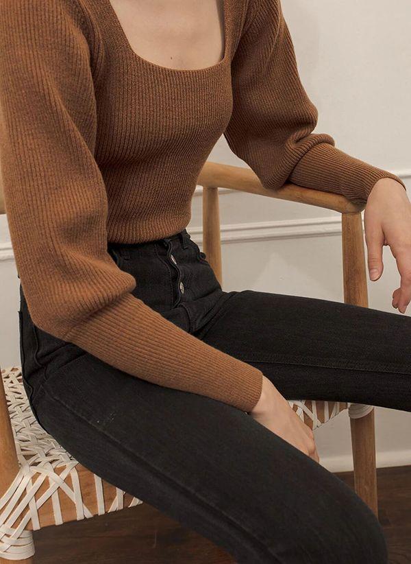 Вязаный свитер осень/зима 2019-2020 1410861
