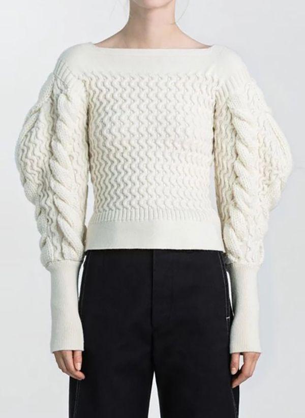 Вязаный свитер осень/зима 2019-2020 1410862