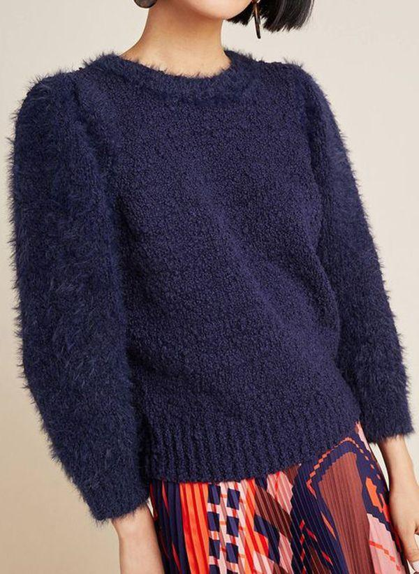 Вязаный свитер осень/зима 2019-2020 1410870