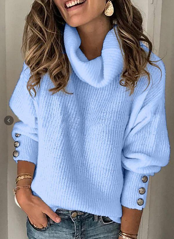 Вязаный свитер осень/зима 2019-2020 1418254