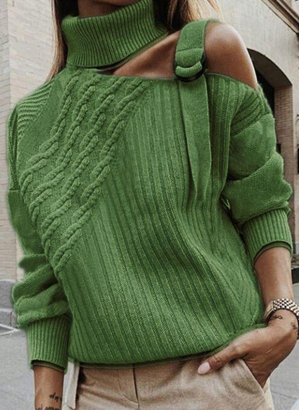 Вязаный свитер осень/зима 2019-2020 1420490