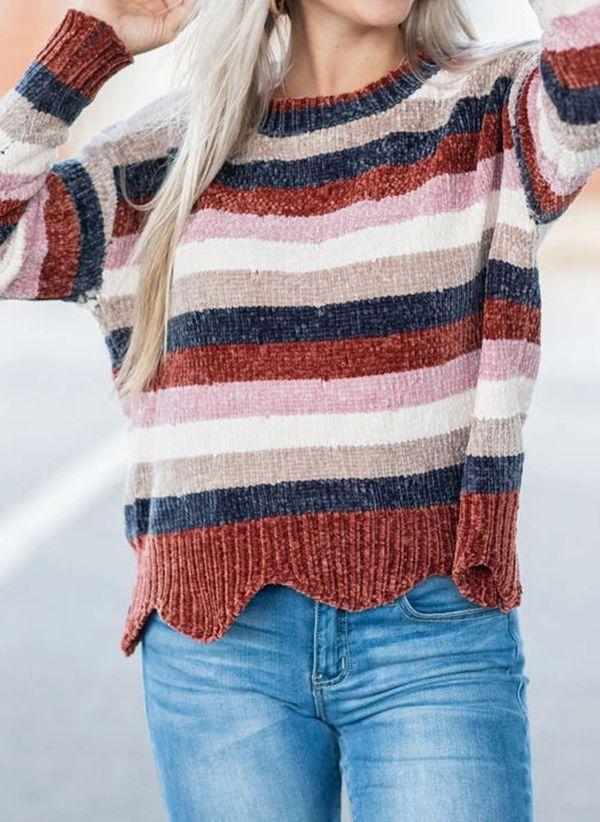 Вязаный свитер осень/зима 2019-2020 1423889