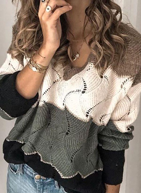 Вязаный свитер осень/зима 2019-2020 1424764