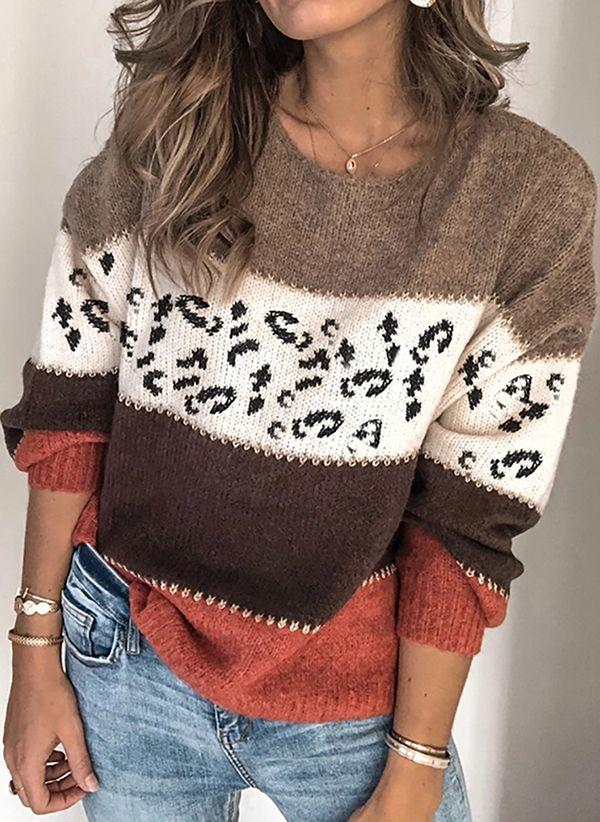 Вязаный свитер осень/зима 2020-2021 1424769