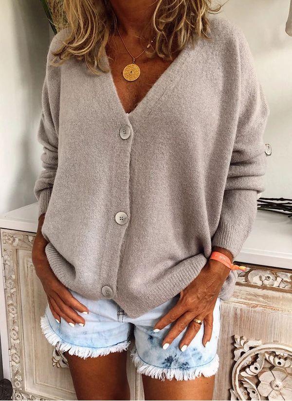 Вязаный свитер осень/зима 2019-2020 1425289