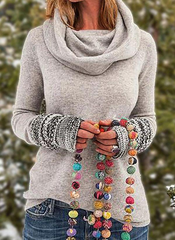 Вязаный свитер осень/зима 2019-2020 1432282