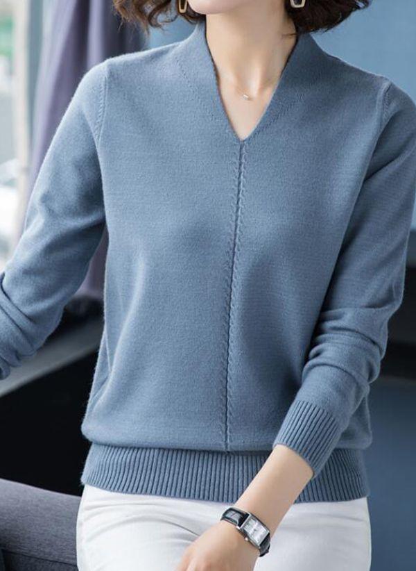 Вязаный свитер осень/зима 2019-2020 1434172