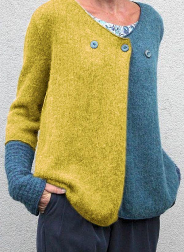 Вязаный свитер осень/зима 2019-2020 1440221