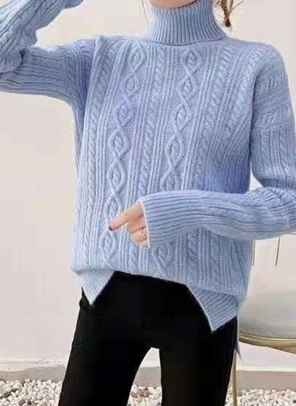 Вязаный свитер осень/зима 2019-2020 1440856