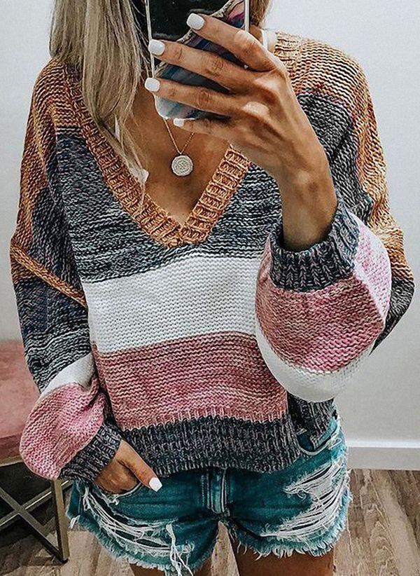 Вязаный свитер осень/зима 2019-2020 1441867