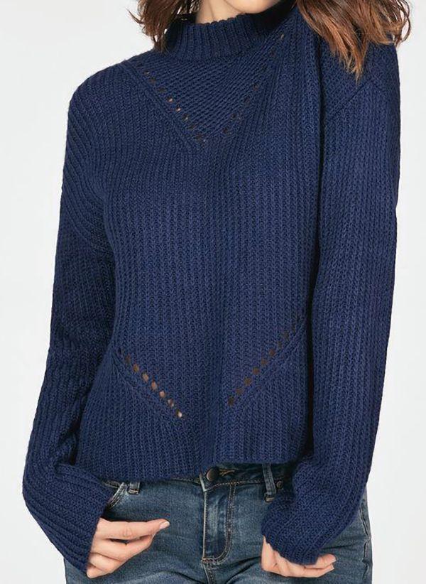 Вязаный свитер осень/зима 2019-2020 1444654