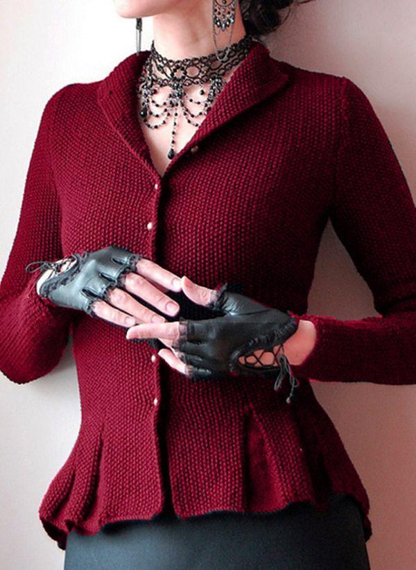 Вязаный свитер осень/зима 2019-2020 1445825