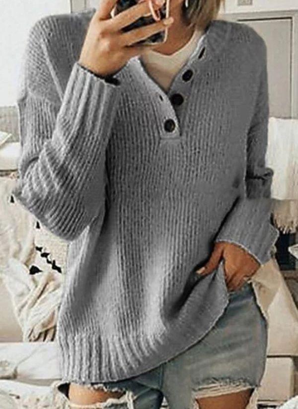 Вязаный свитер осень/зима 2019-2020 1451725