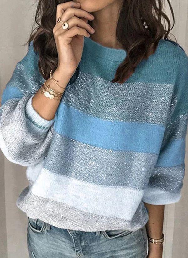 Вязаный свитер осень/зима 2020-2021 1451828