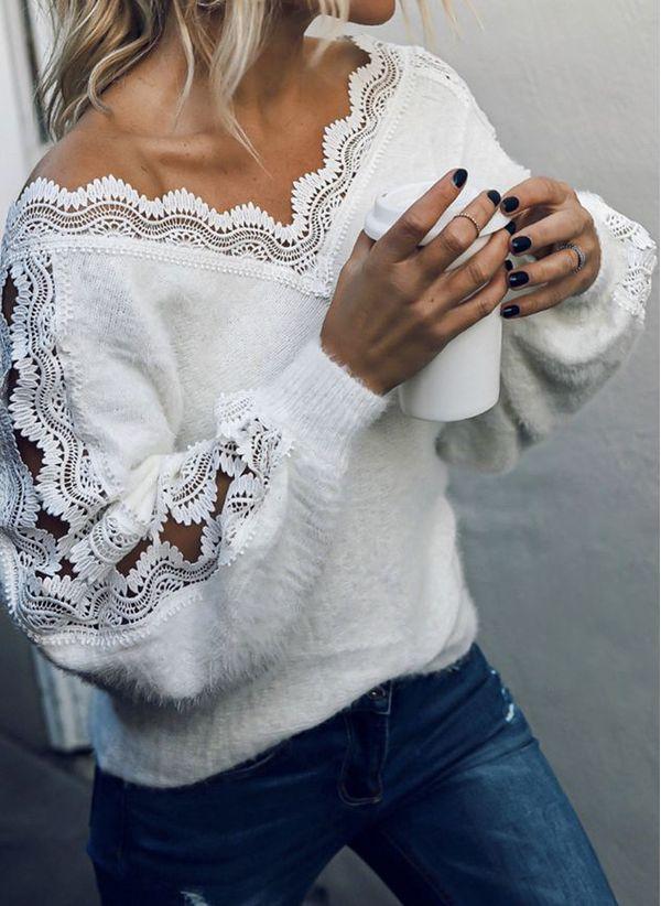 Вязаный свитер осень/зима 2019-2020 1458358