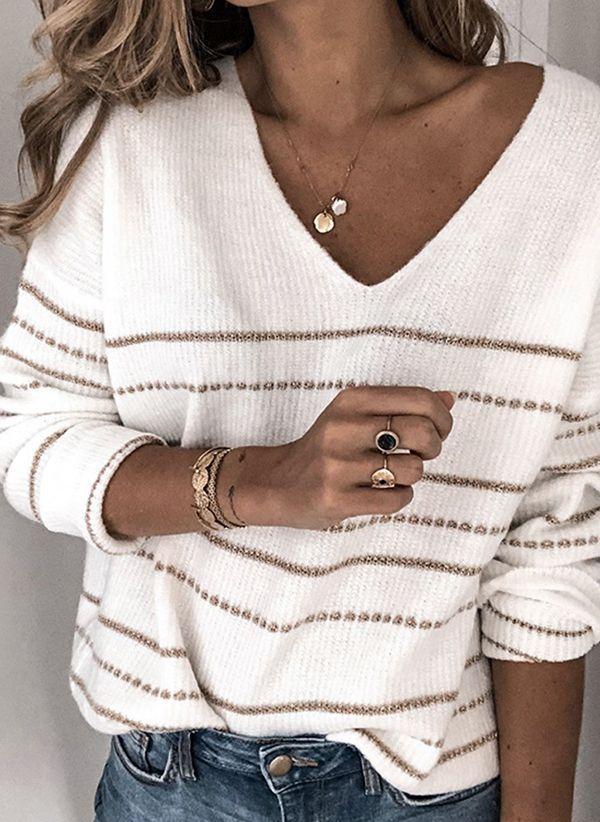 Вязаный свитер осень/зима 2019-2020 1460442