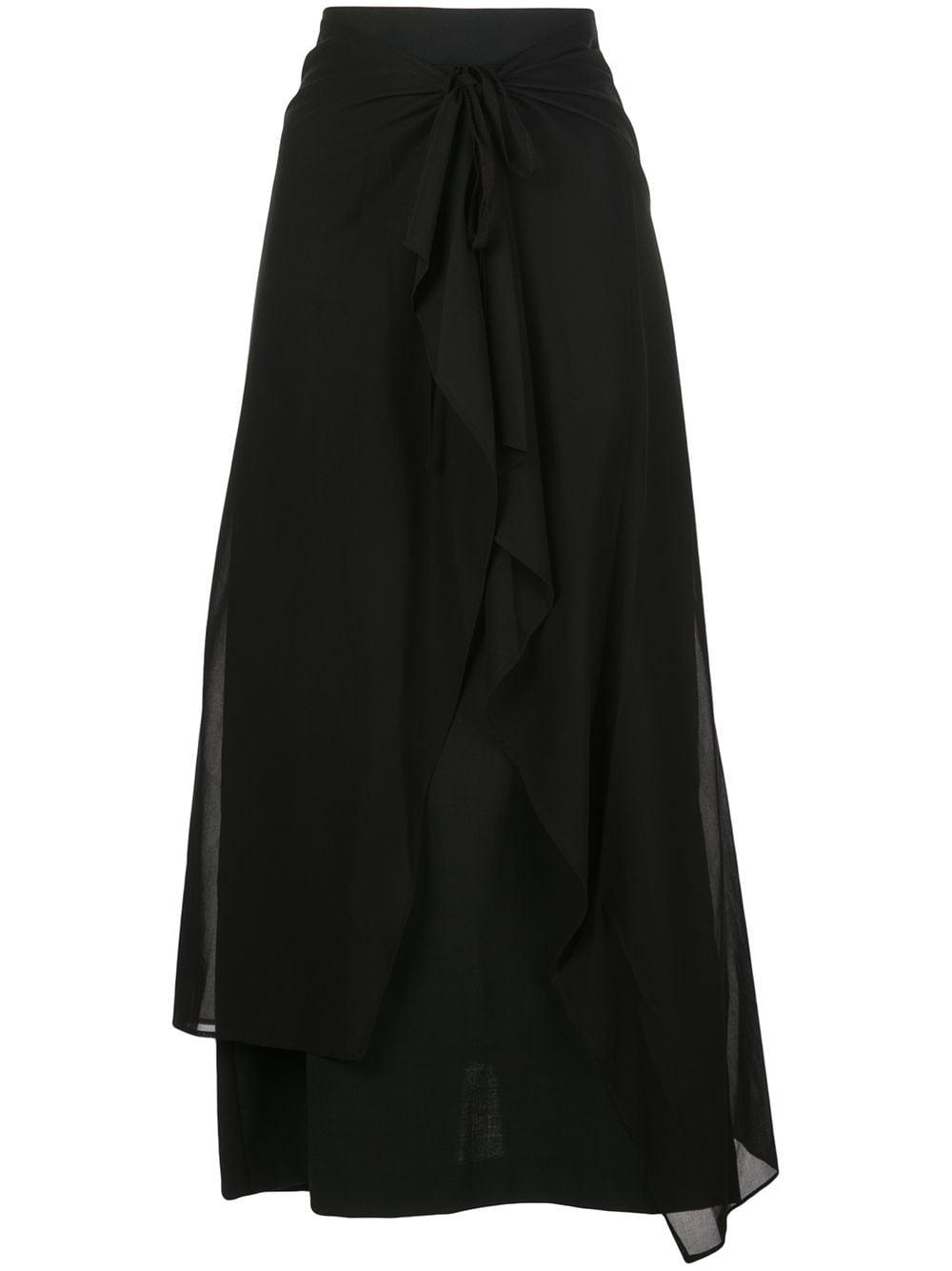 Y's юбка с завязкой спереди