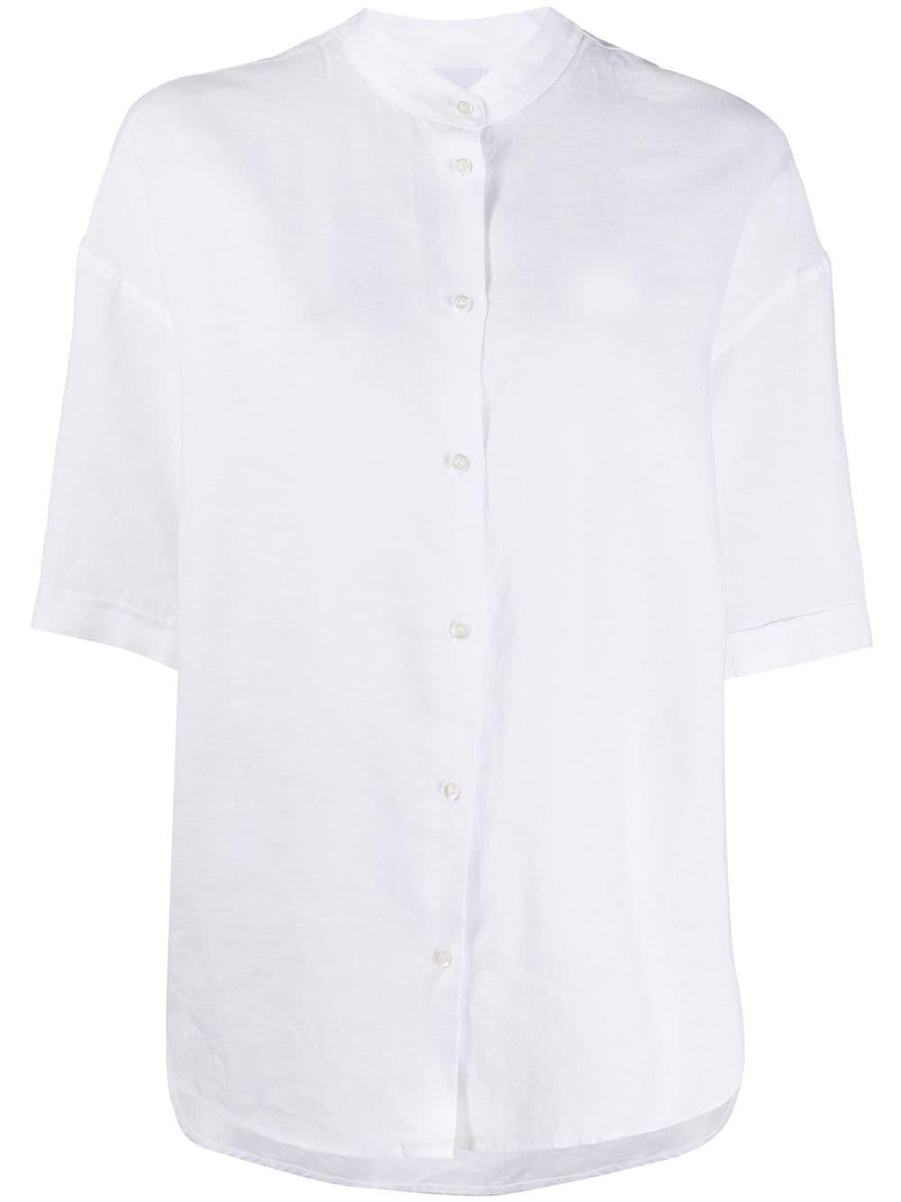 Aspesi блузка с воротником-стойкой