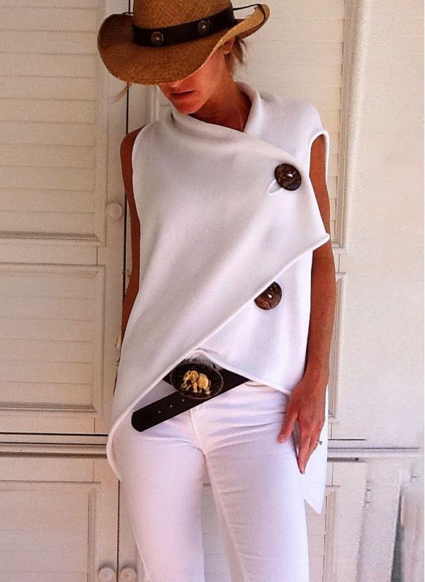 Белая блузка 1186461