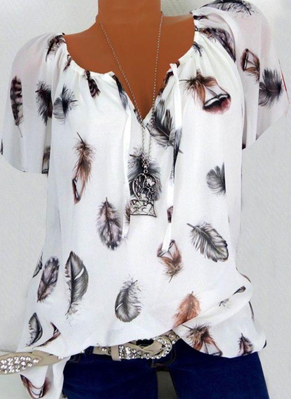 Белая блузка 1324972