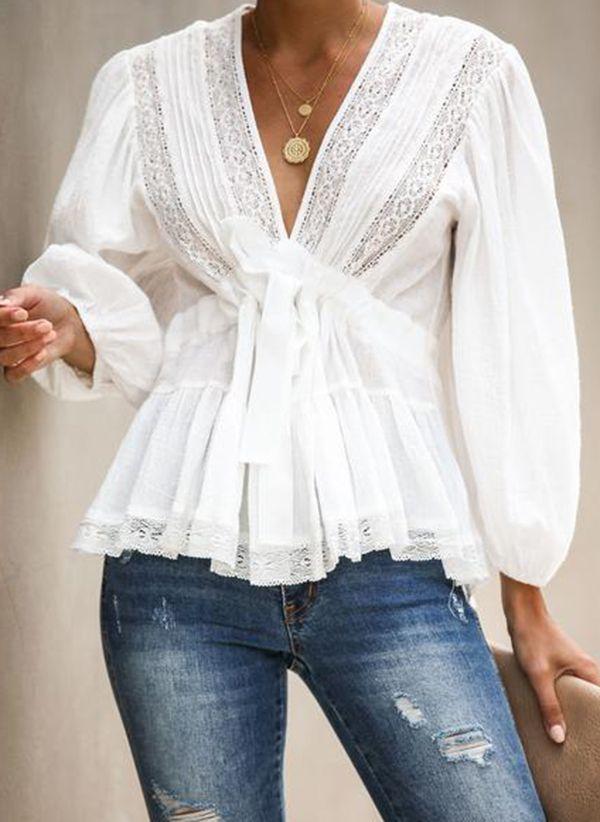 Белая блузка 1327524