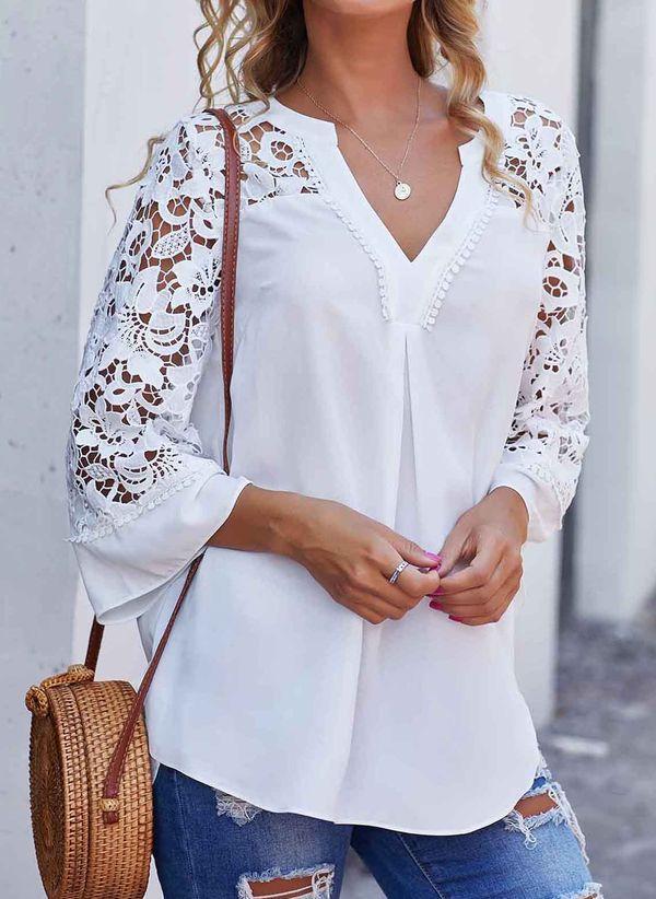 Белая блузка 1439885