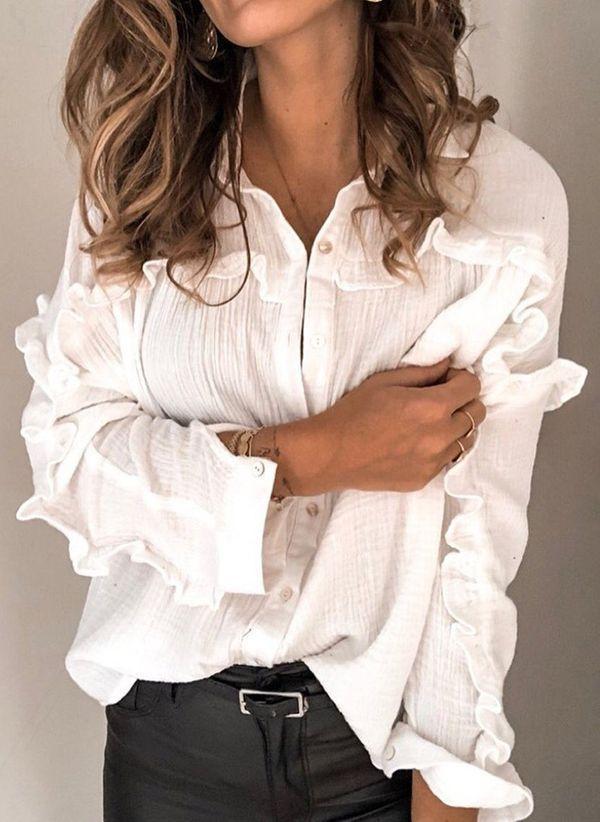 Белая блузка 1452581