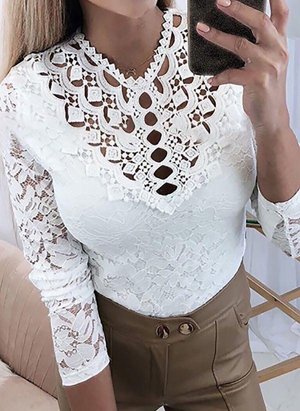 Белая блузка 1452703