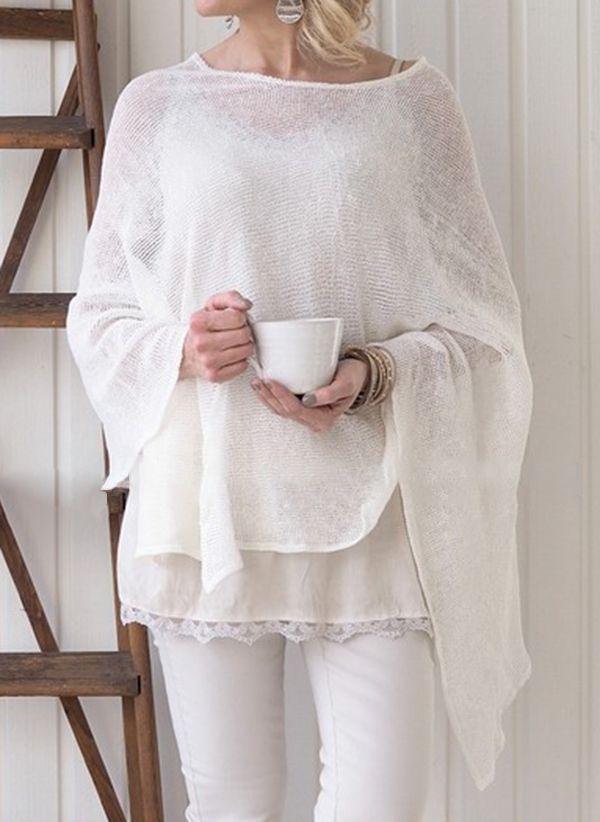 Белая блузка 1452735