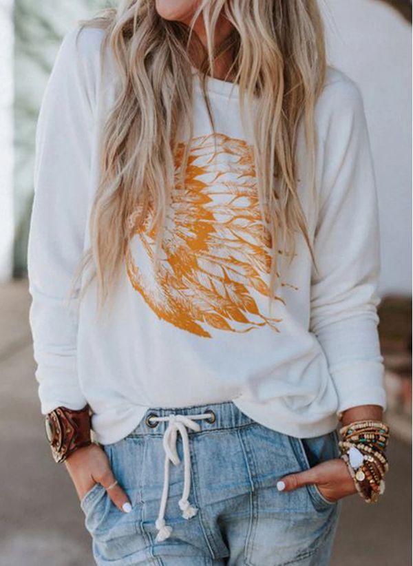 Белая блузка 1460855