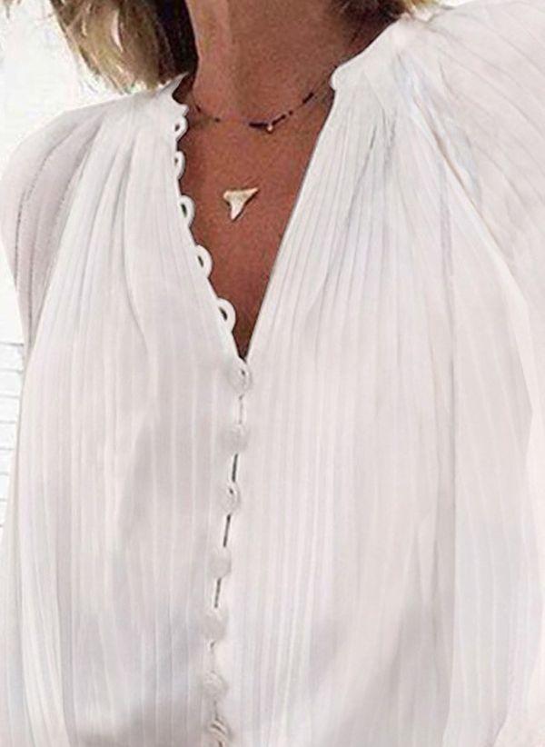 Белая блузка 1460888