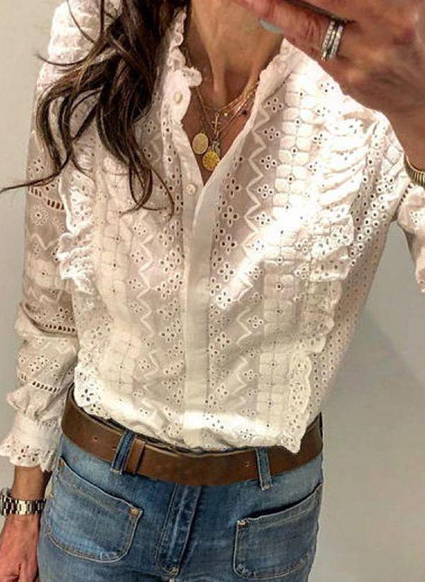Белая блузка 1461837