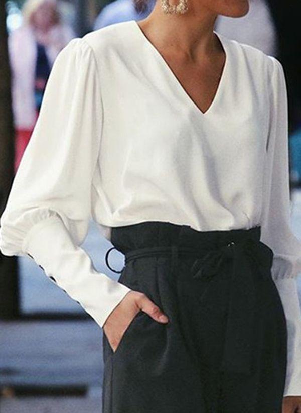 Белая блузка 1461843