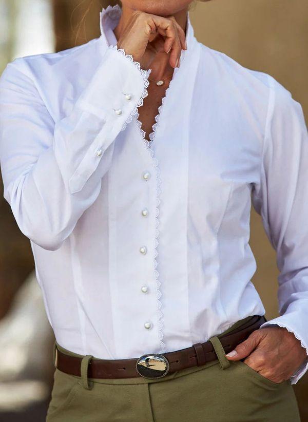Белая блузка 1464029