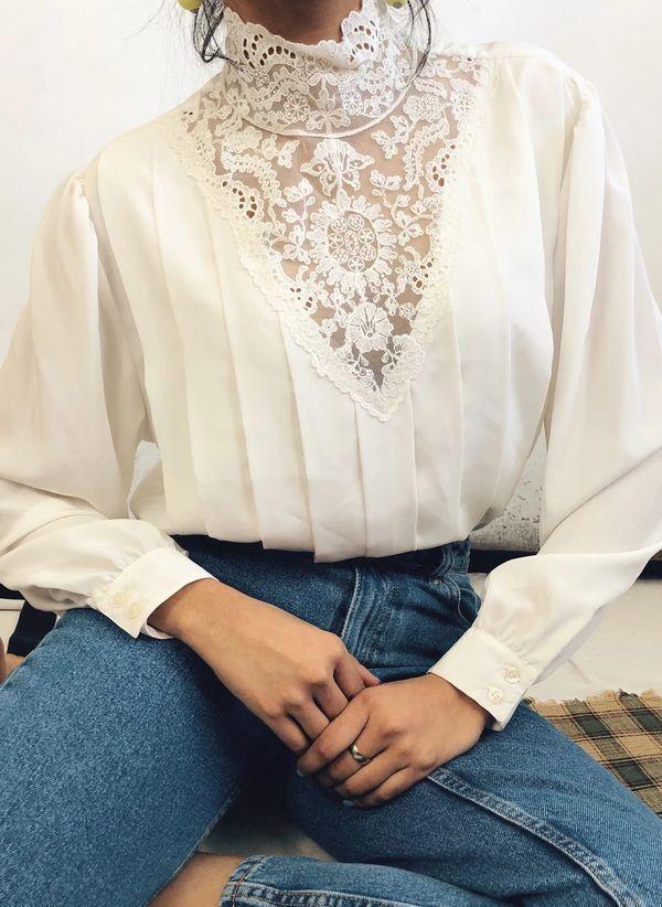 Белая блузка 1465926
