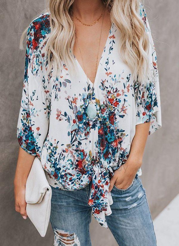 Белая блузка 1469025