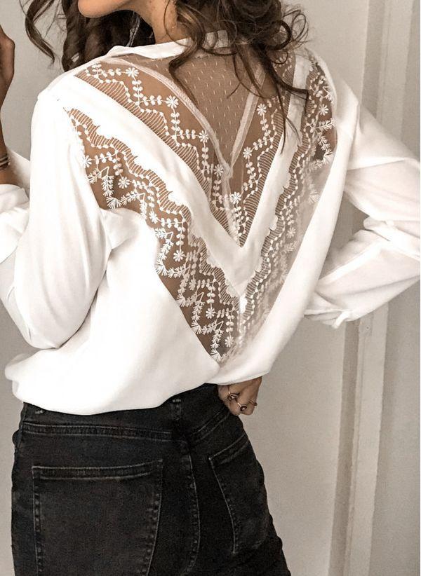 Белая блузка 1469048