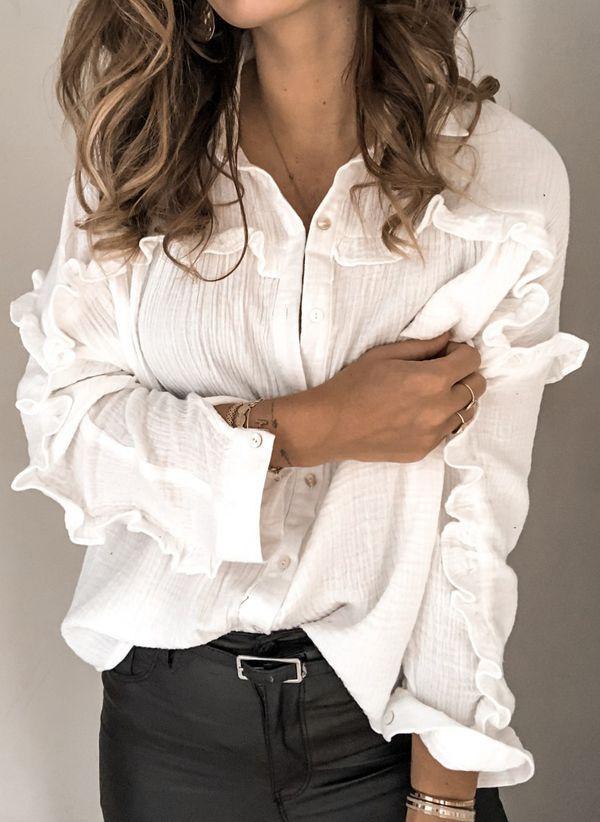 Белая блузка 1469051